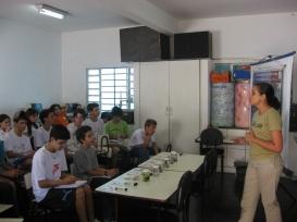 Curso de Biomonitoramento para alunos