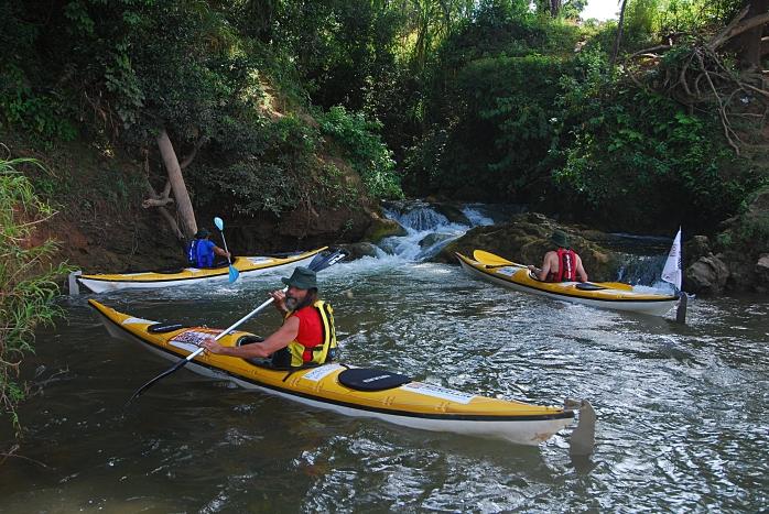 5 Pausa da navegacao no trecho Sumidouro - Funilandia